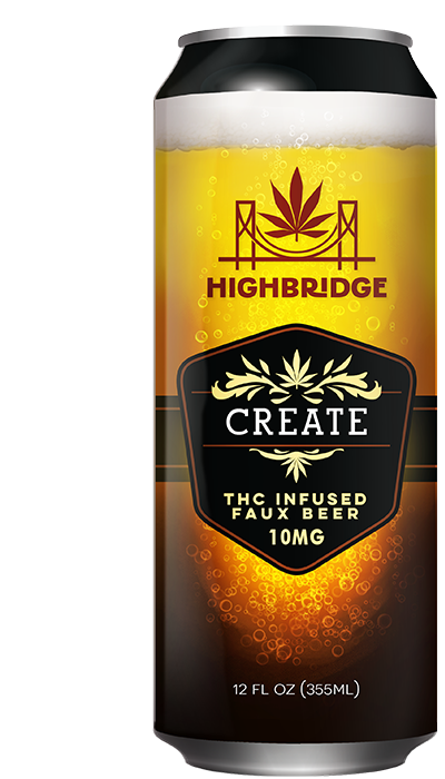 Create - THC Infused Faux Beer