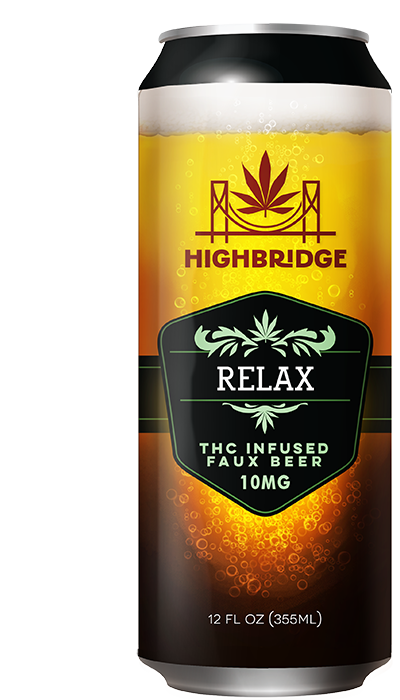 Relax - THC Infused Faux Beer